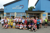 cycle poland at Elblag hospice
